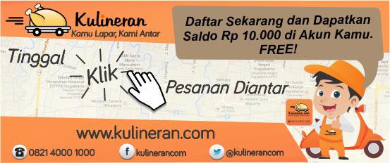 KULINERAN.com Jasa Layanan Antar Makanan
